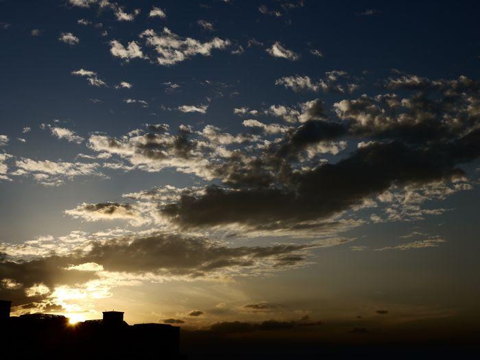そしてこれもまた浦安の夕日。