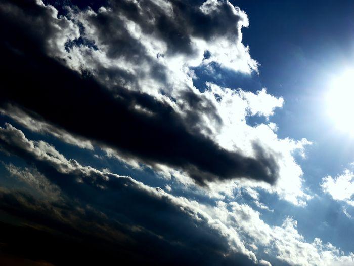 これは今日の空。